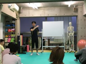 金子至誠,パーソナルトレーナー,セミナー,姿勢改善